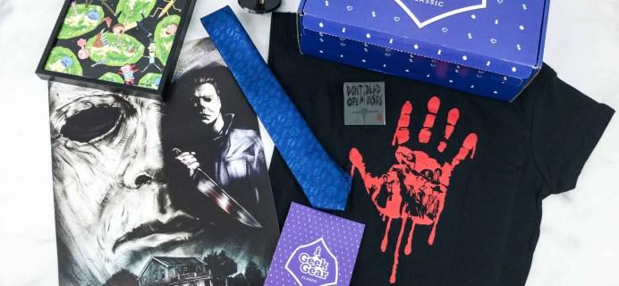 Geek Gear Classic Box Black Friday Sale!