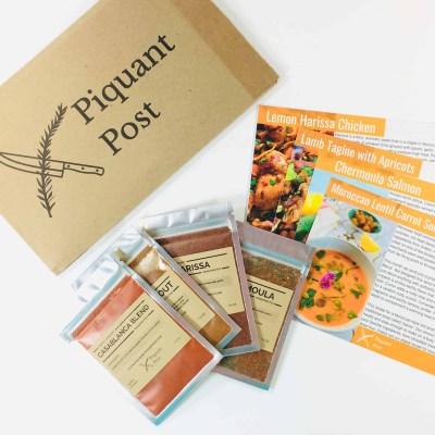 Piquant Post November 2018 Subscription Box Review + Coupon!