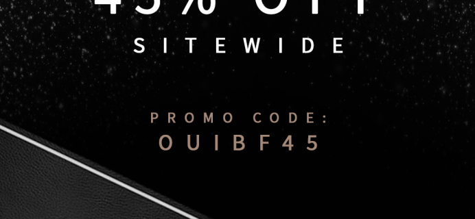 Oui Please Homme Black Friday Sale: Save 45% on Subscriptions & Shop Orders!