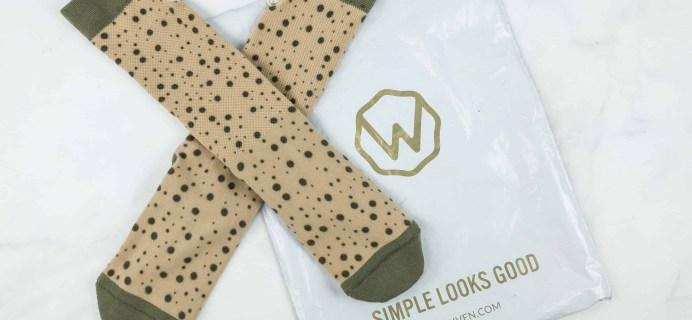 Wohven Socks Subscription November 2018 Review + Coupon!