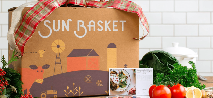 Sun Basket Limited Time Cyber Weekend Deal – Save $80 – $20 On First Four Boxes!