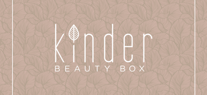 Kinder Beauty Box November 2019 Spoiler #1 + Coupon!