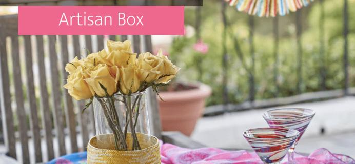 GlobeIn Cyber Monday 2018 Coupon: Buy 3 Artisan Boxes, Get 1 FREE!
