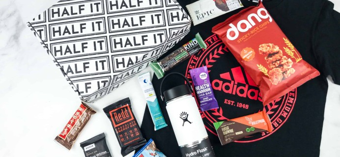 Don't miss the Half It Black Friday Coupon: Get 55% Off Your First Box!