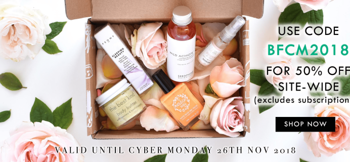 Nourish Beauty Box Cyber Monday Deal: 50% Off Site Wide Including Past Boxes!
