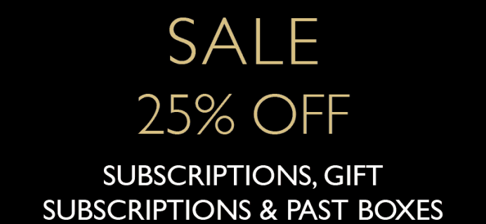 Cocotique Cyber Monday Coupon Code – 25% Off ALL Subscriptions & Past Boxes!