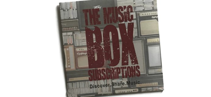 The Music Box 2018 Black Friday Deal: Get 25% off your first box!