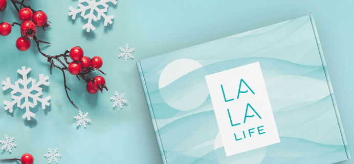 LAST DAY: La La Life Cyber Monday Coupon: 30% Off Subscriptions & Holiday Gift Box!