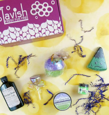 Lavish Bath Box October 2018 Subscription Box Review