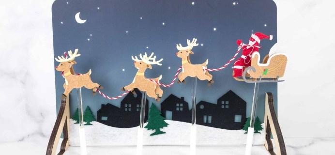 Kiwi Crate Holiday Box Review –  SANTA'S SLEIGH AUTOMATON
