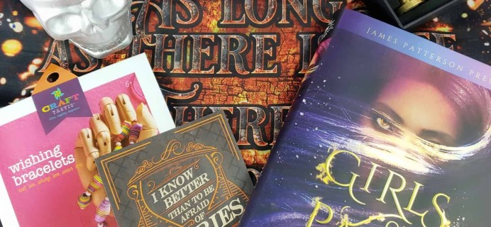 OwlCrate November 2018 Subscription Box Review + Coupon
