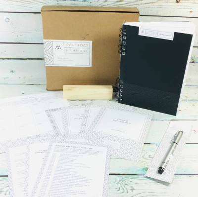 Everyday Manifest November 2018 Subscription Box Review + Coupon