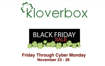 Kloverbox 2018 Cyber Monday Sale: Get a FREE Bonus Box with Prepaid Subscription!