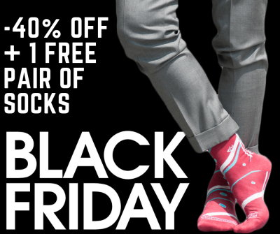 Via Calzabigi Club Black Friday 2018 Coupon: Get 40% Off +1 Pair of Socks FREE!