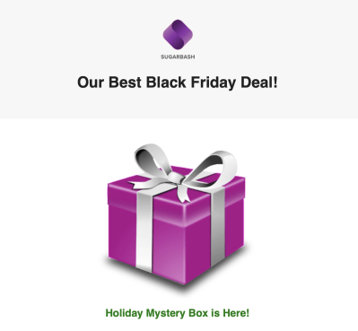 SugarBash Black Friday 2018 Subscription Box Deal: Holiday Mystery Box On Sale Now!