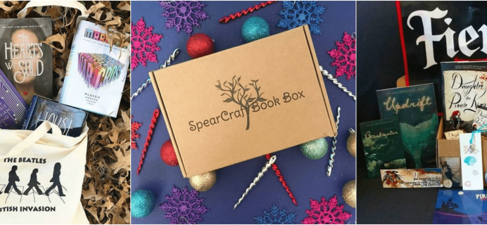 SpearCraft Book Box Black Friday Coupon: Get 15% Off Subscriptions!