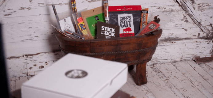 Stick in a Box Beef Jerky Subscription Black Friday Coupon: Save 20%!