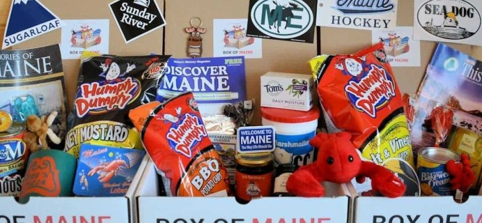 Box Of Maine Cyber Monday Coupon: Save 15% Off your whole order with Box of Maine!