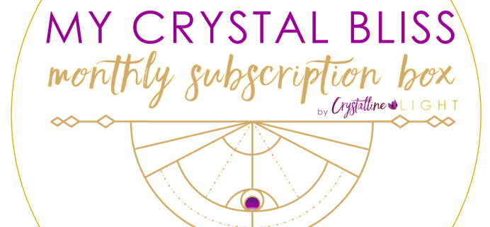 My Crystal Bliss Cyber Monday Deal: Get $11 off your first month's box!