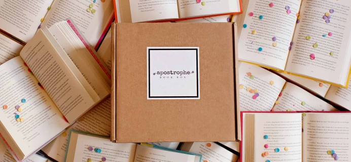Apostrophe Box Cyber Monday Coupon: Save 10% on subscriptions!