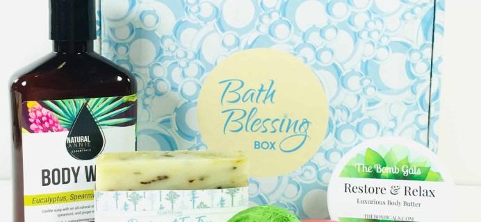 Bath Blessing Box November 2018 Subscription Box Review + Coupon