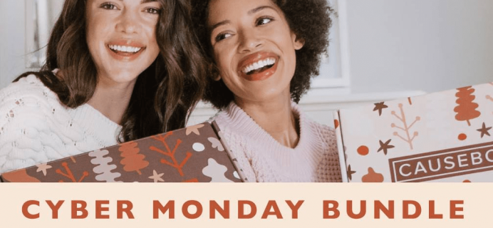 Causebox Cyber Monday Deal: FREE $70 Value Bundle With Winter Box!