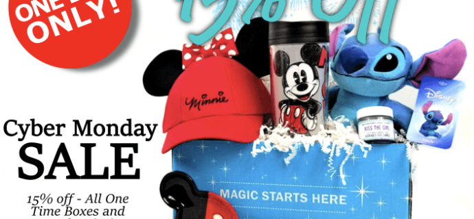 Mickey Monthly Cyber Monday Deal: 15% Off!