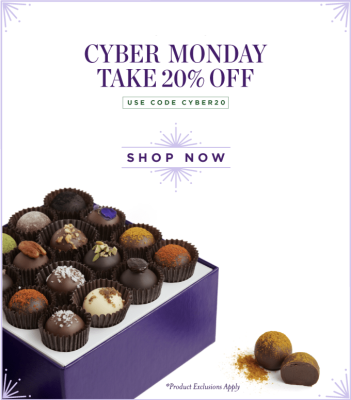 Vosges Cyber Monday Deal: Save 20% Off!