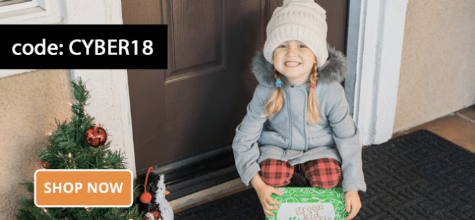 Green Kid Crafts Cyber Monday 2018 Coupon: Get Your First Box FREE With 3+ Month Subscription!