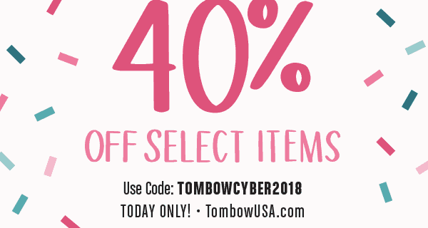 Tombow Cyber Monday Sale: 40% Off Select Items