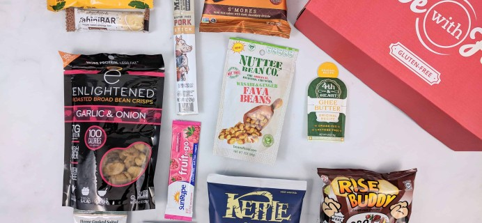 Love With Food Gluten-Free November 2018 Subscription Box Review + Coupon