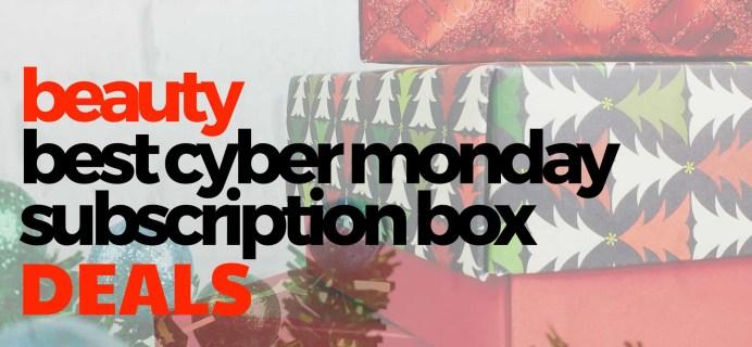 The Best Cyber Monday BEAUTY Subscription Box Deals!