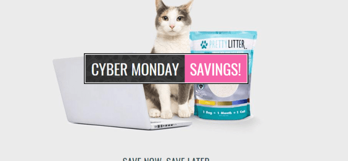 PrettyLitter Cyber Monday Coupon: Get Up To $20 Credit + Bonus Toy – EXTENDED!