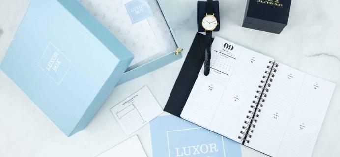 Luxor Box November 2018 Subscription Box Review