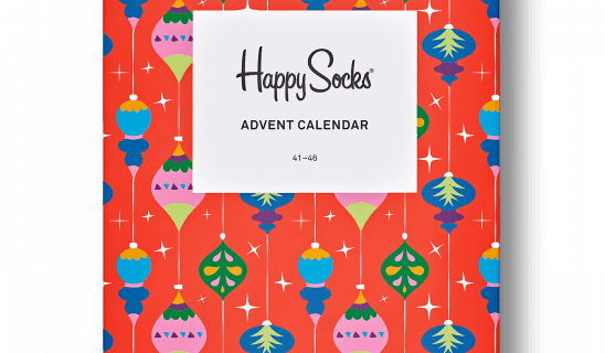 2018 Happy Socks Advent Calendar Available Now!