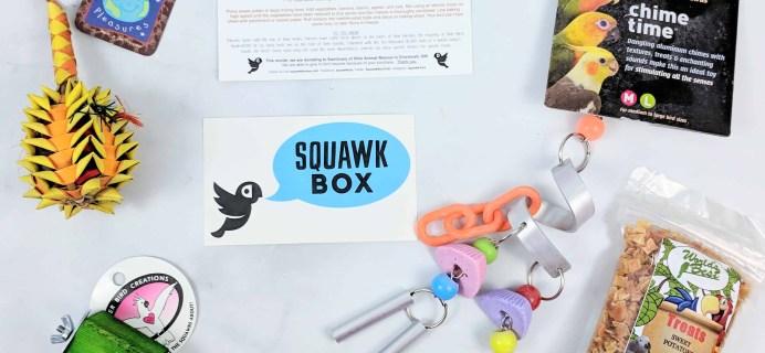 Squawk Box Subscription Review – November 2018