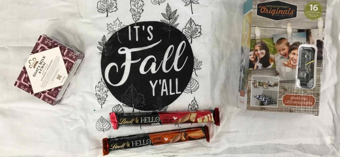 Peaches and Petals October 2018 Subscription Box Review & Coupon
