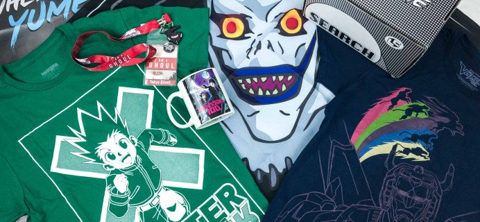 Loot Anime November 2018 Subscription Box Review & Coupons – SEARCH
