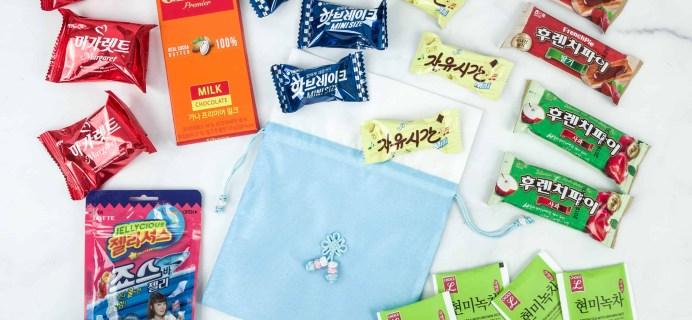 Korean Snack Box December 2018 Subscription Box Review + Coupon