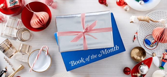 December 2018 Book of the Month Selection Time + First Month $5!