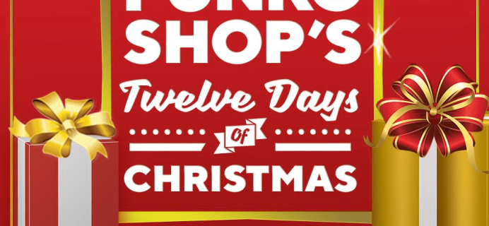 Funko 12 Days of Christmas 2018 Day 1: Bundle Available at 1 pm!!