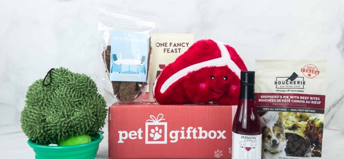PetGiftBox November 2018 Subscription Box Review + 50% Off Coupon
