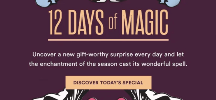 Julep Gift Day 5 of 12 Days of Magic: Get FREE $25 Off On Any $50+ Purchase!