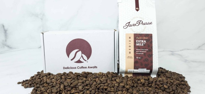 Java Presse Coffee Of The Month Club November 2018 Review + Coupon