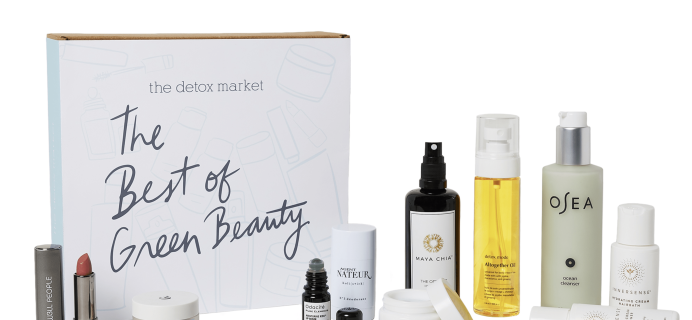 The Detox Market 2018 Best of Green Beauty Bundle Available Now!