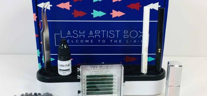 The Lash Artist Box November/December 2018 Subscription Box Review + Coupon