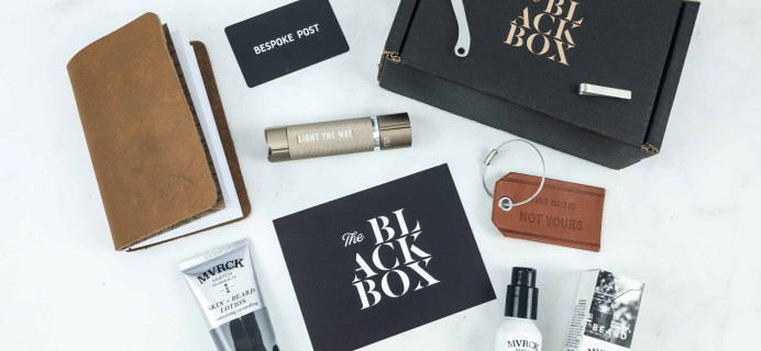 Bespoke Post Black Friday Black Box Premium Review & Coupon