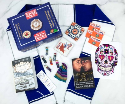 Bibliophilic Excursions Signature Journey November 2018 Subscription Box Review – MEXICO