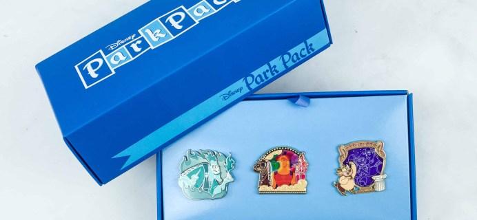 Disney Park Pack Pin Edition 3.0 November 2018 Subscription Box Review