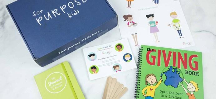 For Purpose Kids Starter Kit Review + Coupon
